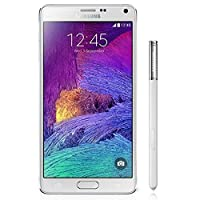 Samsung Note 4 SM-N9100 Dual SIM 16GB Factory Unlocked International Version (No Warranty) – White