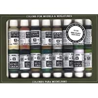 Vallejo WWII Allied Forces Paint Set #9, 17ml