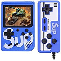 atari Handheld Game Console for Children, Built-in 400 Games, with 3.0 Inch LCD Display