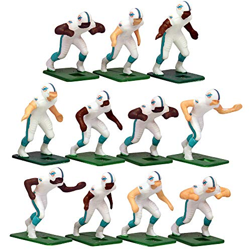 Miami DolphinsAway Jersey NFL Action Figure Set
