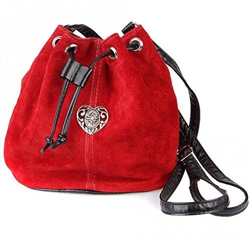 Schuhmacher, Borsa a tracolla donna rosso rosso Medio