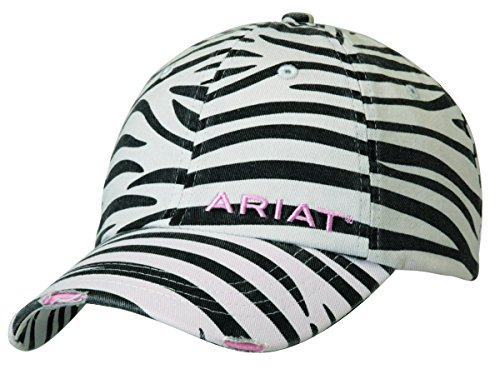 Ariat accessories Women's Distressed Print Cap OS, Zebra
