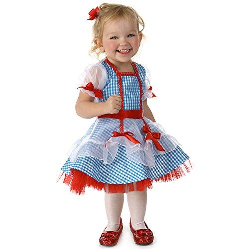 Wizard Of Oz Dorothy Costume Infant (Wizard of Oz Glitter Dorothy Costume - Baby 18-24)