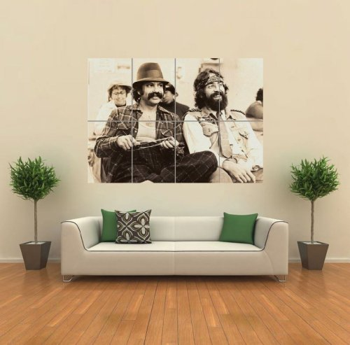 Cheech And Chong Poster - Marijuana Giant Art Print