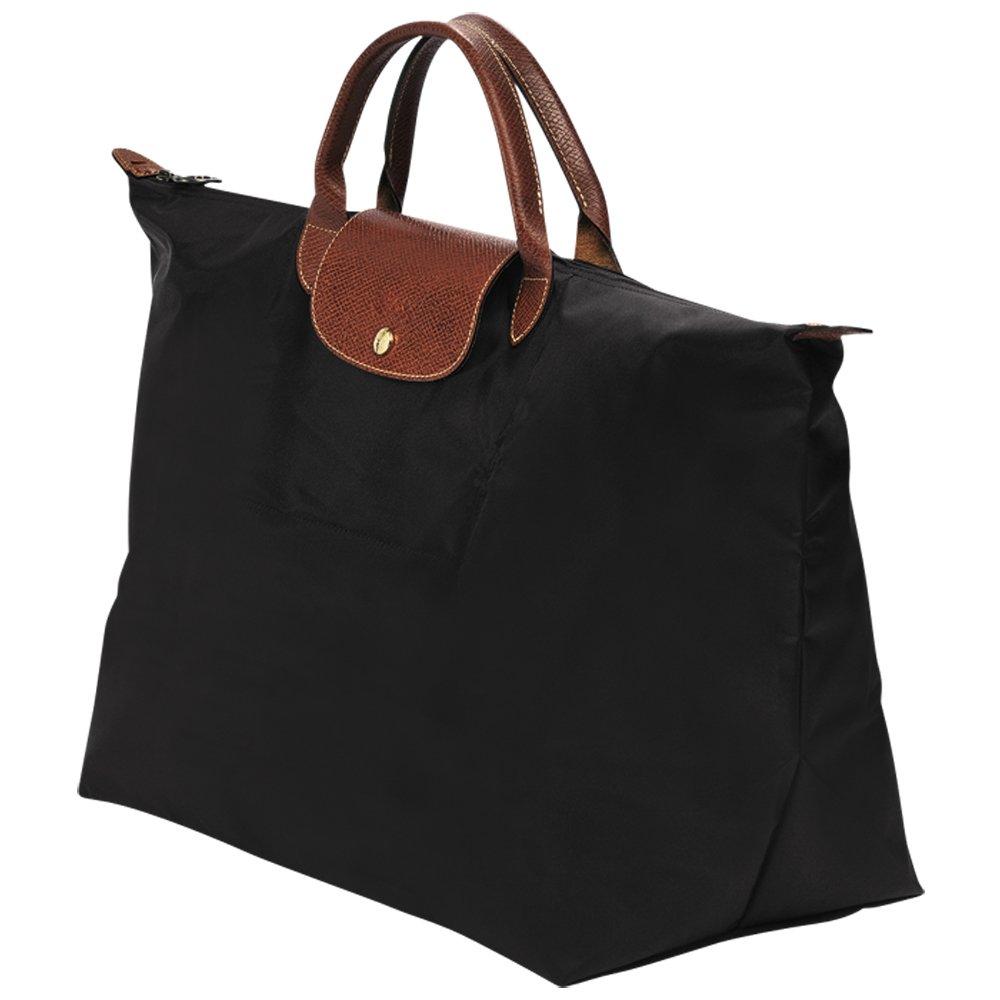 Longchamp Le Pliage Neo Shopping Tote Handbag Bag (L, black)