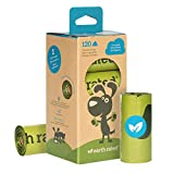 Earth Rated – Poop Bags – Dog Waste Bags – Unscented – Completely Leak Proof – 15 Waste Bags Per Roll – 9 x 13 Inches – 120 Bags