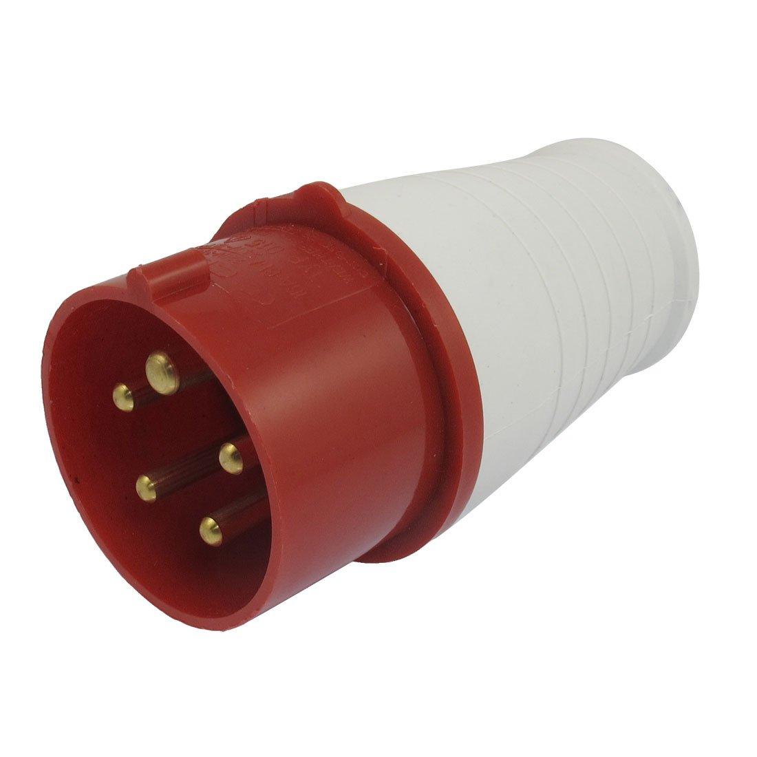 sourcingmap® AC 220 - 380V/240-415V 16A 3P+E+N IEC309-2 Industrial Conector a12072300ux0030