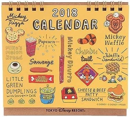 Amazoncojp ディズニー パークフード イラスト 2018年 卓上