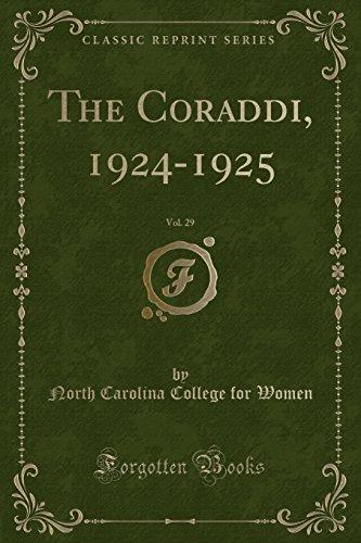 The Coraddi, 1924-1925, Vol. 29 (Classic Reprint)