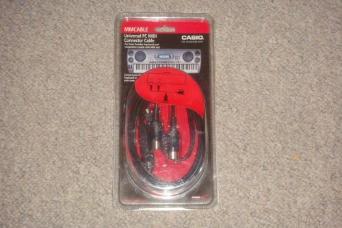 CASIO UNIVERSAL PC MIDI CONNECTOR CABLE .... (MOMMY4LIFE71) ()