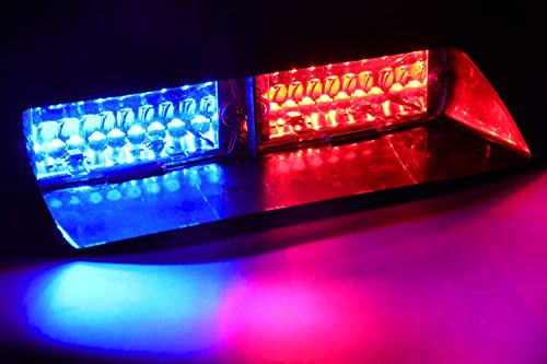 Blue Led Emergency Vehicle Lights in US - 8