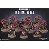 Games Workshop 99120101122 Blood Angels Tactical Squad Jeu de table et figurines miniatures (français non garanti)