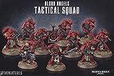 Games Workshop 1 X Warhammer 40K Blood Angels Tactical Squad (2014)
