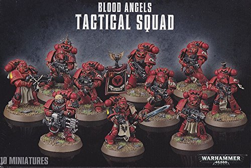 Games Workshop 1 X Warhammer 40K Blood Angels Tactical Squad (2014) by Games Workshop