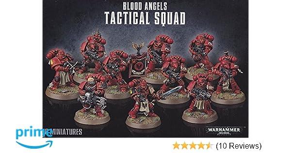 Torsos 10x Blood Angels Tactical Squad Big Pack