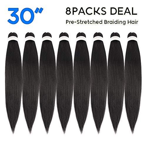 Pre Stretched Braiding Hair 30