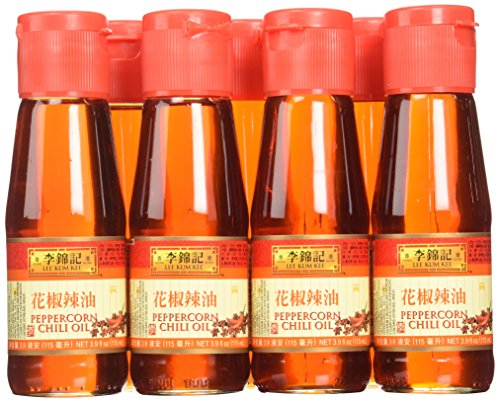 Lee Kum Kee Peppercorn Chili Oil, 3.9-Ounce (Pack of 12) by Lee Kum Kee