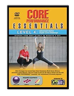 GoFit Core Essentials DVD & Training Card - Level 4