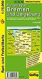 Radwanderkarte Bremen und Umgebung 1:75 000 (Geo Map)