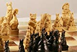 Very Rare Collectors Novelty Themed Beatrix Potter's Peter Rabbit Chess set game pieces in perfect condition