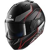 Shark Evo One Krono Mat Kar - Casco de motocicleta, talla M, color negro