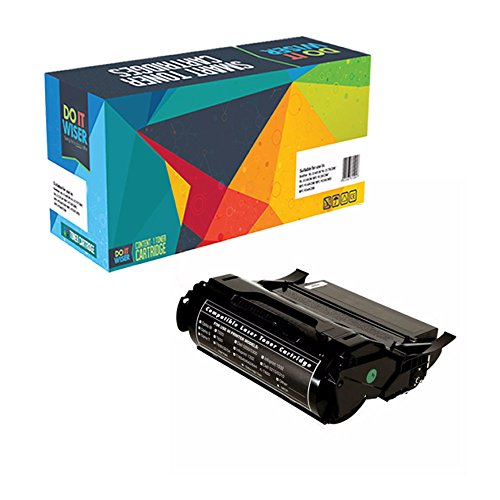 Do It Wiser T650H11A High Yield Remanufactured Toner Cartridge for Lexmark T650, T652, T654, T656 [25,000 Pages]