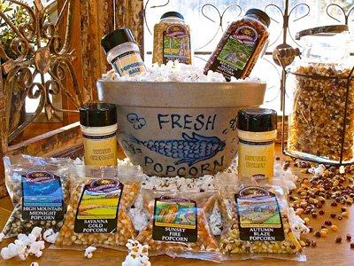 Pottery Snack - Popcorn Pottery Bowl Gift Set
