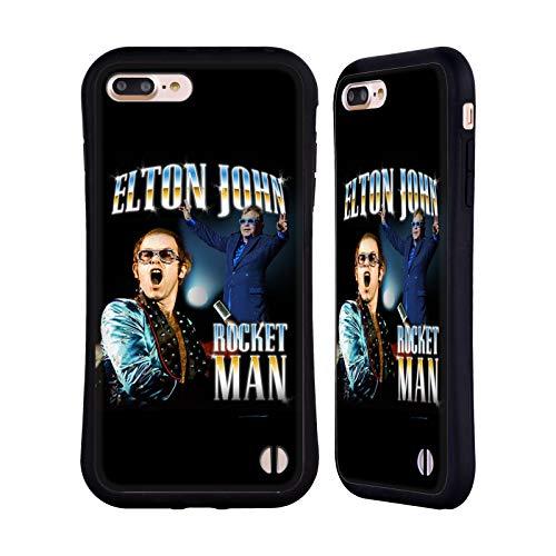 Official Elton John Key Art Rocketman Hybrid Case Compatible for iPhone 7 Plus/iPhone 8 Plus