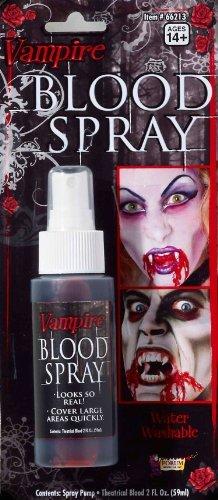 Rubie's Costume Co Spirit Zombie Blood Spray Black One Size fits Most]()
