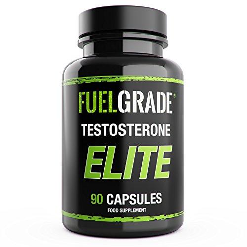 FUELGRADE Testosterone Testo Elite Men's Natural Supplement (90 Capsules)...