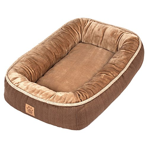 Precision Pet SnooZZy Rustic Elegance Low Bumper