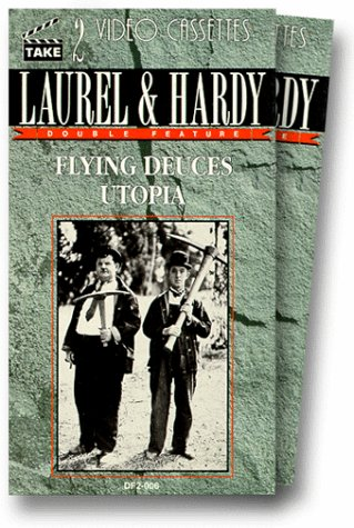 The Flying Deuces [USA] [VHS]: Amazon.es: Stan Laurel, Oliver Hardy, Jean Parker, Reginald Gardiner, Arthur Housman, Mary Jane Carey, Michael Visaroff, ...