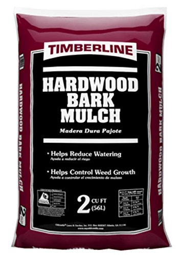- Timberline 52055476 Hardwood Mulch, 2 Cuft