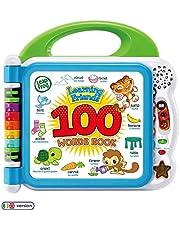 LeapFrog 601503 leervrienden 100 woorden babyboek pedagogisch en interactief tweetalig speelboek speelgoed peuters en kleuters jongens en meisjes 1, 2, 3, 4+ jaar, meerkleurig, eenheidsmaat