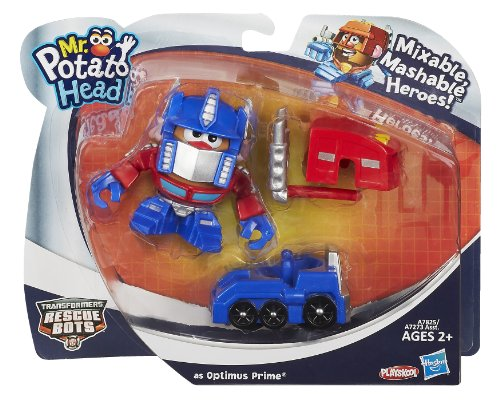 Playskool Mr. Potato Head Transformers Mixable, Mashable Heroes as Optimus Prime Robot and Truck