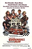 "The Cannonball Run 1981 Authentic 27"" x 41"" Original Movie Poster Fine, Very Fine Burt Reynolds Comedy U.S. One Sheet"
