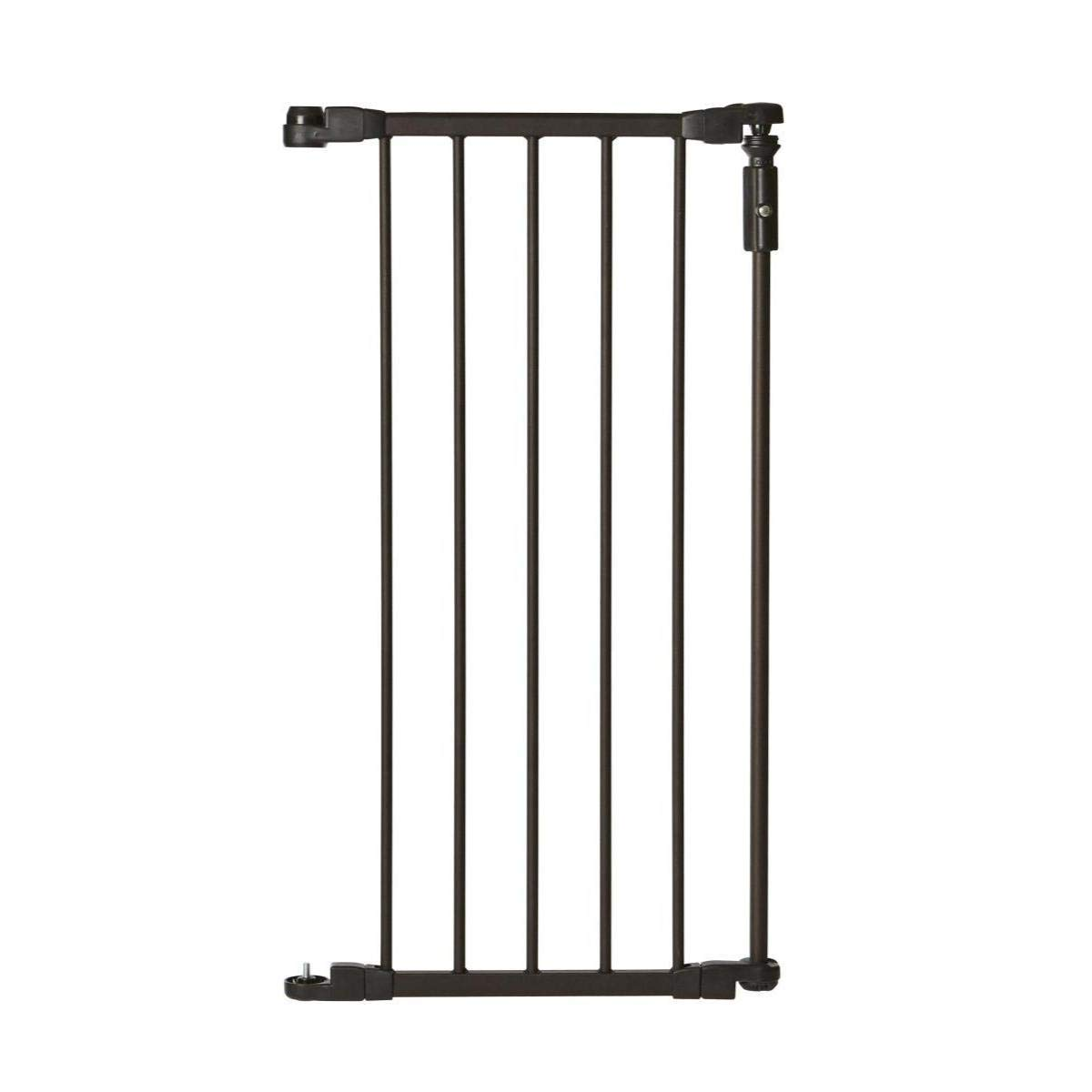 North States 6 Bar Extension for the Bronze Deluxe D cor Gate Adds an additional 15 inches to the width of the gate for extra wide spaces 15 width, Bronze