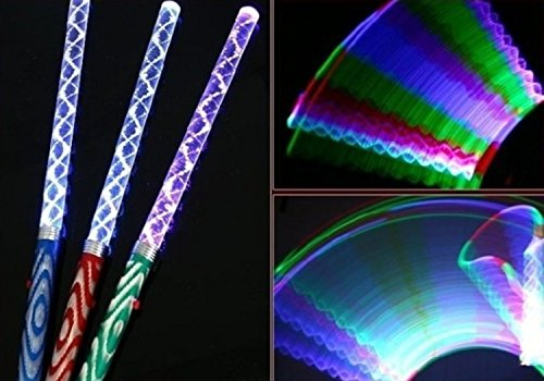 100PCS For Concert and Party 10'' Assorted Colors Glowsticks Large Glow Sticks by VISKEY