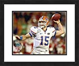 "NCAA Florida Gators Tim Tebow, Beautifully Framed and Double Matted, 18"" x 22"" Sports Photograph"