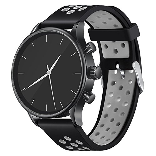 - Vetoo Watch Band, Quick Release Silicone Watch Bands, Choose Color and Width 20mm, 22mm, Rubber Replacement Band for Traditional & Smart Watch