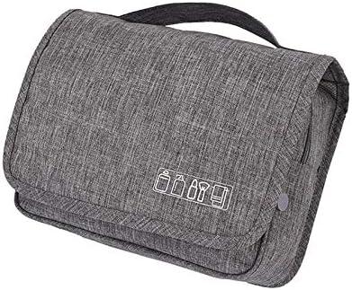 ウォッシュバッグ 化粧品バッグ 旅行用収納バッグ フック付き携帯用折りたたみ収納袋 大容量 旅行・出張・家庭用