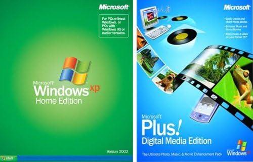 Windows Xp Home Edition Free Microsoft Media Plus Pack Amazon Co Uk Software