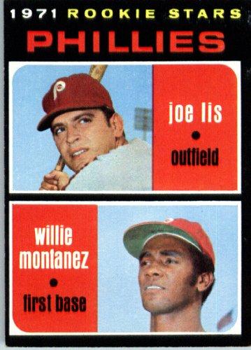 1971 Topps Baseball Card #138 Lis/Montanez ENCASED