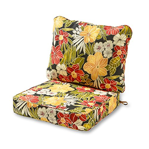 Greendale Home Fashions Deep Seat Cushion Set, Aloha ()