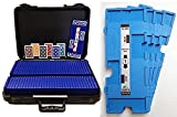 36 Imperial-Plus Duplicate Boards-Light Blue, 36 Decks Baron ALL-PLASTIC Cards & Carrying Case 6354LB