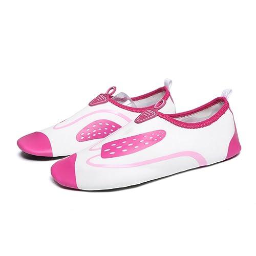 Nclon Hombres Mujer Antideslizante Zapatos De Agua Secado Rápido,Descalzo Aqua Calcetines Zapatillas Chanclas Piscina Playa Yoga Buceo: Amazon.es: Zapatos y ...