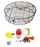 KUFA Stainless Steel wire Crab Trap with Zinc Anode & accessory kit
