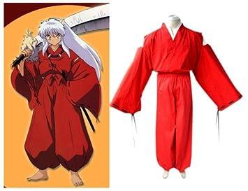 Inuyasha Inuyasha Cosplay traje kimono, tamaño XL (altura ...