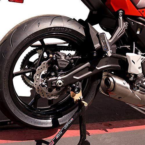 Shogun 2017 2018 2019 Kawasaki Ninja 650 2017 2018 2019 Z650 Z 650 Swingarm Spools - Sliders - Black - 701-0749 - MADE IN THE USA