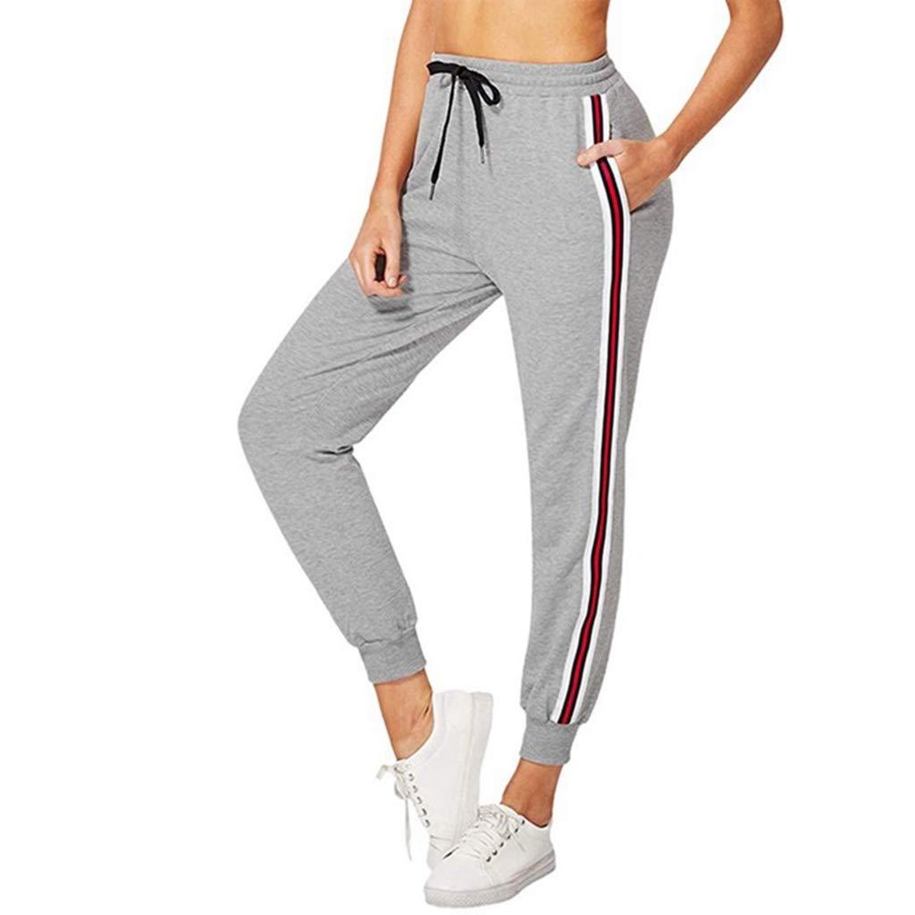 Amazon.com: Zcxaa - Pantalones de yoga para mujer, con ...